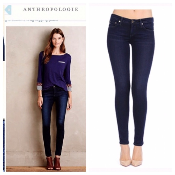 9f165c820f83 Anthropologie Jeans | Ag Adriano Goldschmeid The Legging Super ...
